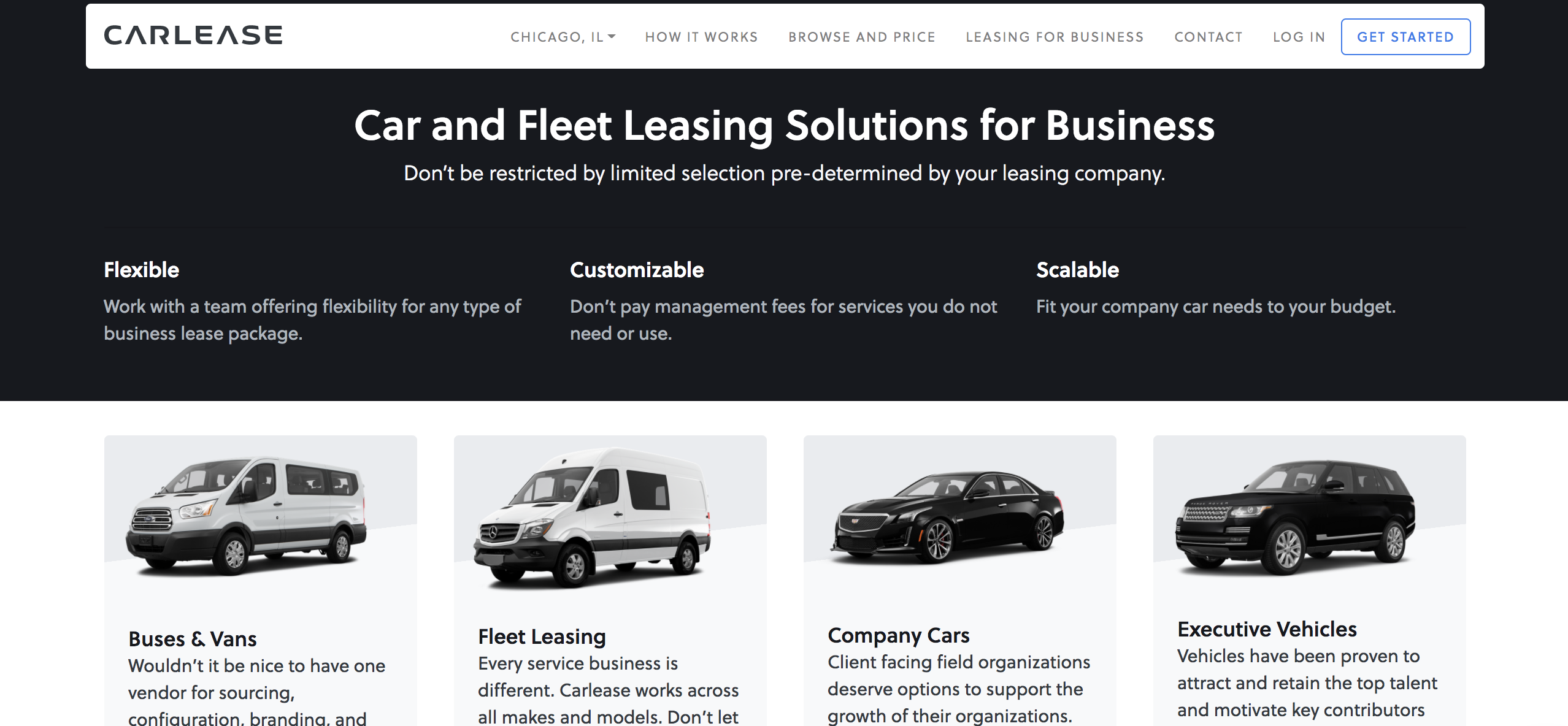 Car Lease Chicago >> The Best Option For Business Vehicle Leasing Carlease Com