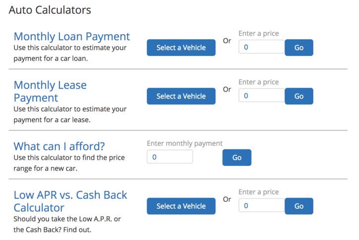 Auto Loan Calculator Edmunds >> Leasing Vs Buying A Car Breaking Down The Numbers